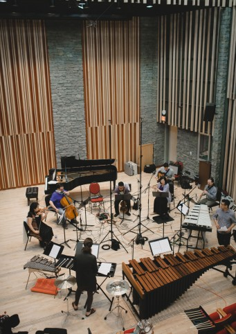 Ethos Collective recording at Pyatt Hall