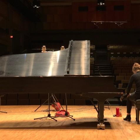 Pianist Julia Den Boer, Pollock Hall (McGill University)